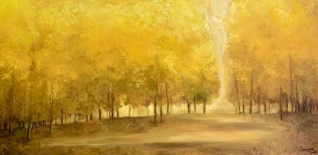 Triển lãm 'Đông' của 5 họa sĩ ảnh 5