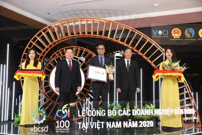 Nestlé Việt Nam được vinh danh Top 03 doanh nghiệp bền vững năm 2020 ảnh 1