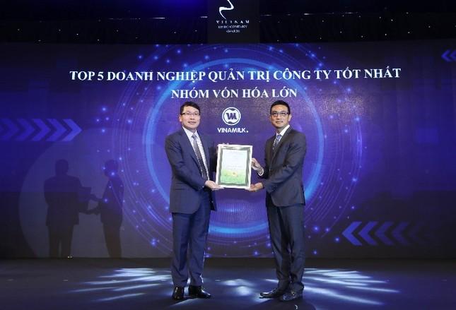 Vinamilk 'bội thu' giải thưởng về quản trị công ty ảnh 3