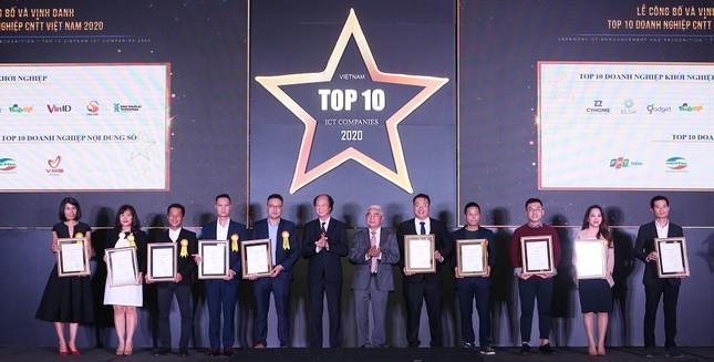 VinID giành 2 giải thưởng 'Top 10 doanh nghiệp ICT Việt Nam' 2020 ảnh 1