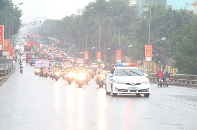 Công an Thanh Hoá ra quân bảo vệ Đại hội Đảng toàn quốc lần thứ XIII ảnh 3