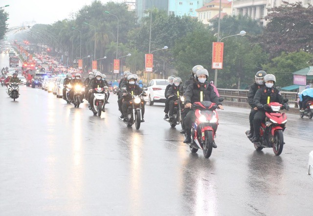 Công an Thanh Hoá ra quân bảo vệ Đại hội Đảng toàn quốc lần thứ XIII ảnh 4