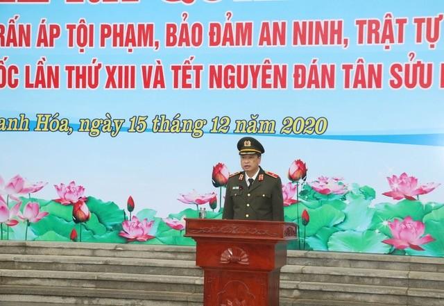 Công an Thanh Hoá ra quân bảo vệ Đại hội Đảng toàn quốc lần thứ XIII ảnh 2