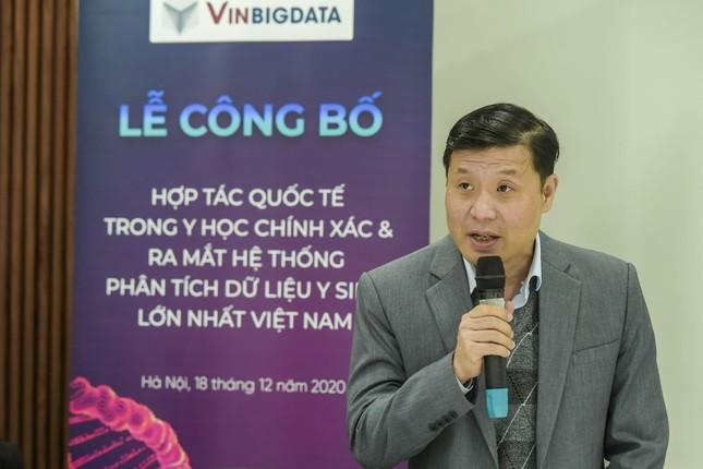 Vingroup công bố hợp tác quốc tế và ra mắt hệ thống quản lý dữ liệu y sinh lớn nhất VN ảnh 1