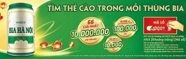 Habeco tung chương trình giải thưởng trị giá 20 tỷ 'câu' khách sắm Tết ảnh 2