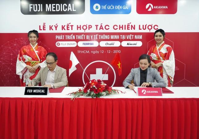 Akanwa Việt Nam và Tập đoàn Fuji Medical ký kết hợp tác chiến lược ảnh 1