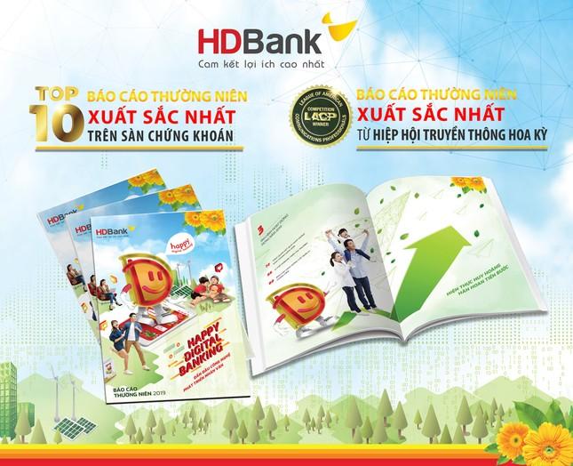 Thông điệp 'Happy Digital Bank' đưa BCTN HDBank giành nhiều giải thưởng lớn ảnh 1