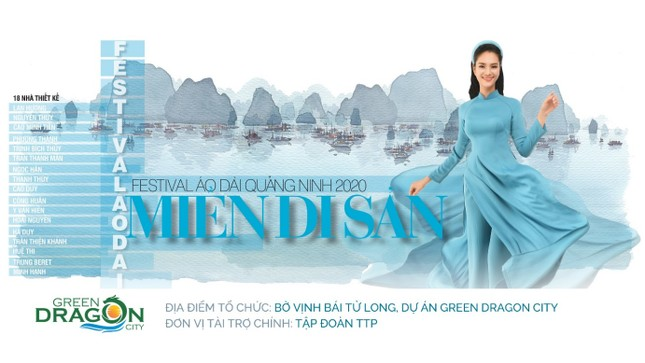 Festival Áo dài Quảng Ninh 2020 - Miền Di sản lần đầu tiên được tổ chức tại Cẩm Phả ảnh 1
