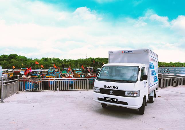 """""""Vua xe tải nhẹ"""" Suzuki - Nhỏ gọn nhưng hiệu quả cho nhu cầu vận chuyển cuối năm ảnh 1"""