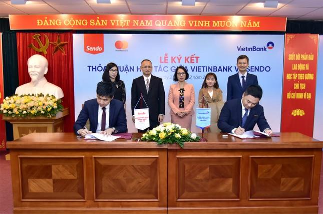 VietinBank hợp tác với Công ty Sen Đỏ phát hành thẻ vật lý, thẻ phi vật lý - định danh eKY ảnh 1