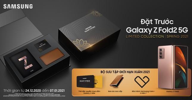 Đã có thể đặt trước Galaxy Z Fold 2 5G bản đặc biệt tại Viettel Store ảnh 2