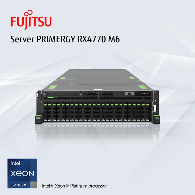 Chuyển đổi số trong 'trạng thái bình thường mới' cùng máy chủ Fujitsu PRIMERGY RX4770 M6 ảnh 1