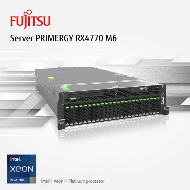 Chuyển đổi số trong 'trạng thái bình thường mới' cùng máy chủ Fujitsu PRIMERGY RX4770 M6 ảnh 3