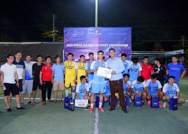 Giải bóng đá Đại Lợi Phát Champions thu hút sự quan tâm của nhiều doanh nghiệp xây dựng ảnh 3