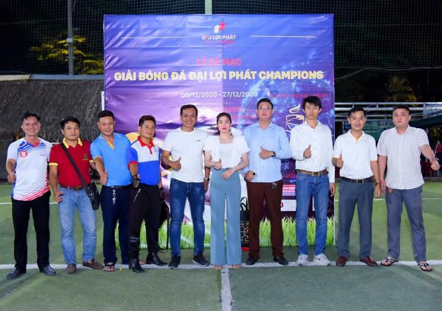 Giải bóng đá Đại Lợi Phát Champions thu hút sự quan tâm của nhiều doanh nghiệp xây dựng ảnh 4