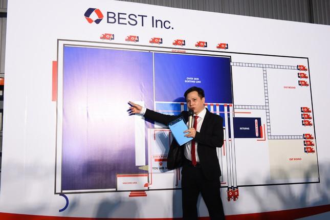 Tập đoàn BEST Inc. vận hành trung tâm phân loại hàng hoá tự động ảnh 1