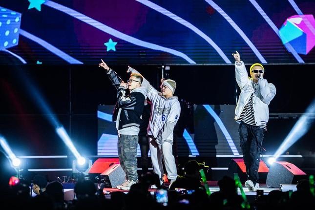 Đại nhạc hội RAP 'chào 2021' xua tan giá rét kỷ lục ở Hạ Long ảnh 5