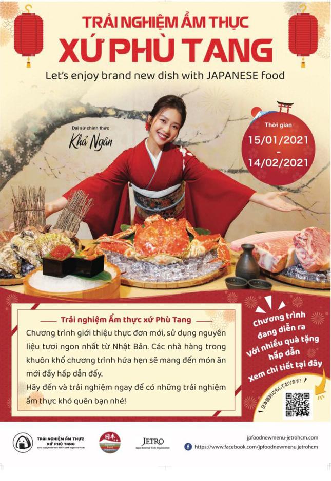 Sự kiện 'Trải nghiệm ẩm thực xứ Phù Tang': Nơi hội tụ nhiều món ăn Nhật Bản mới lạ ảnh 1