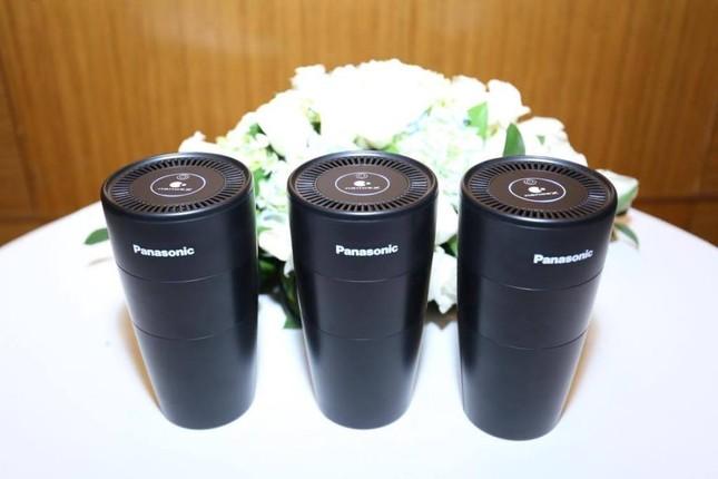 Panasonic lắp 2.000 thiết bị lọc không khí trên xe GrabCar ở Việt Nam ảnh 1
