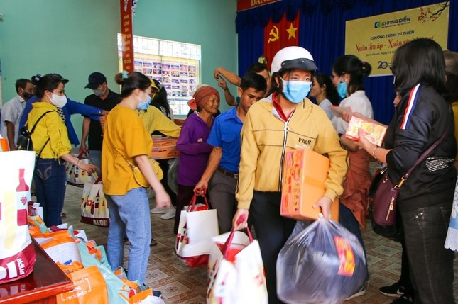 Khang Điền mang xuân yêu thương đến người dân xã An Khương, huyện Hớn Quản, tỉnh Bình Phước ảnh 1
