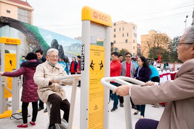 Khánh thành Sân thể thao cộng đồng SCG Quảng Bình ảnh 2