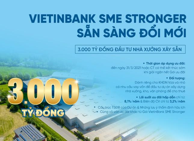 VIETINBANK SME STRONGER - Sẵn sàng đổi mới: Gói 3.000 tỷ đầu tư nhà xưởng xây sẵn ảnh 1