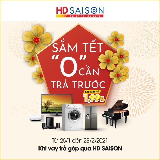 Đón năm mới hanh thông theo phong cách mới cùng HD SAISON ảnh 1