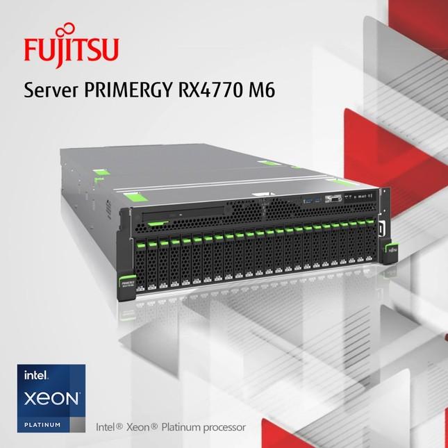 Fujitsu PRIMERGY RX4770 M6 – Chìa khóa cho Chuyển đổi số ảnh 1