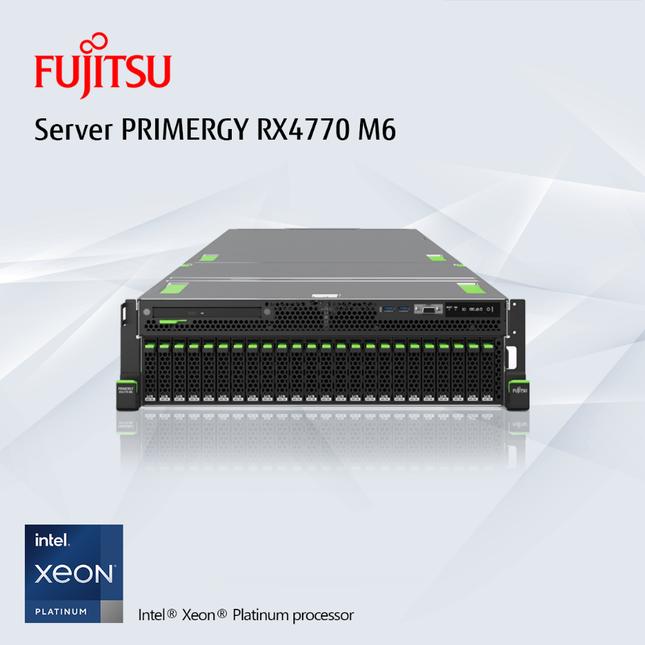 Fujitsu PRIMERGY RX4770 M6 – Chìa khóa cho Chuyển đổi số ảnh 2