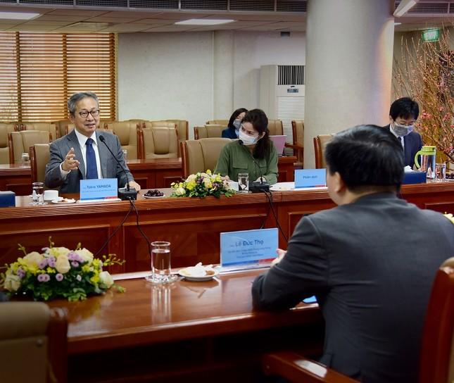 Đại sứ Đặc mệnh toàn quyền Nhật Bản thăm và làm việc tại VietinBank ảnh 3