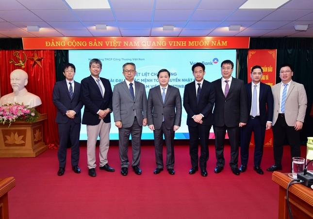 Đại sứ Đặc mệnh toàn quyền Nhật Bản thăm và làm việc tại VietinBank ảnh 4
