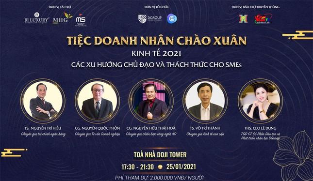 """CEO Lê Dung cùng những chia sẻ hữu ích đến từ chuyên gia tại """"Tiệc doanh nhân chào xuân"""" ảnh 1"""