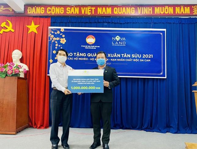 Nova Group đồng hành cùng hộ nghèo, nạn nhân chất độc da cam tỉnh Đồng Nai ảnh 1