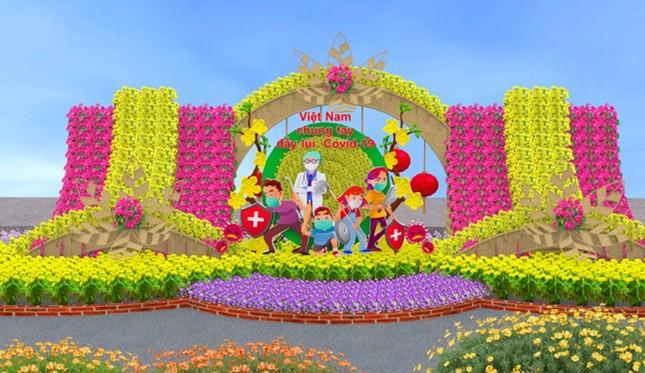 Những con đường khoe sắc hoa xuân nổi bật dịp năm mới ảnh 6