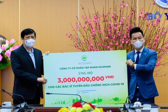 Ecopark dừng quảng cáo và sự kiện Tết để ủng hộ hàng tỷ đồng giúp Hải Dương chống Covid-19 ảnh 1