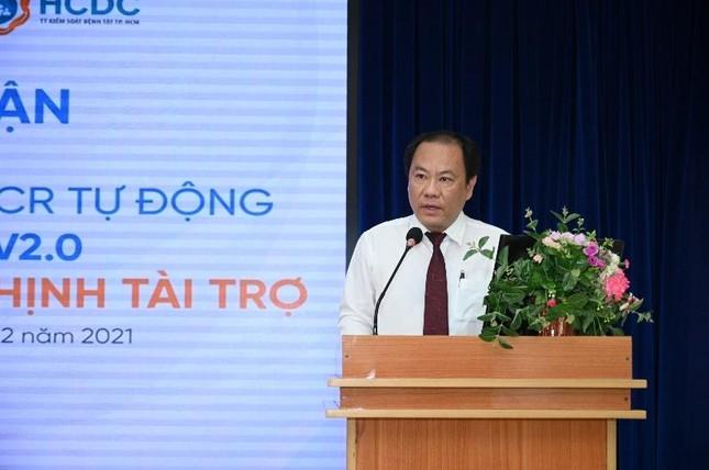 Tập đoàn Hưng Thịnh trao tặng hệ thống máy xét nghiệm COVID-19 tự động trị giá gần 5,3 tỷ đồng cho TP.HCM ảnh 3