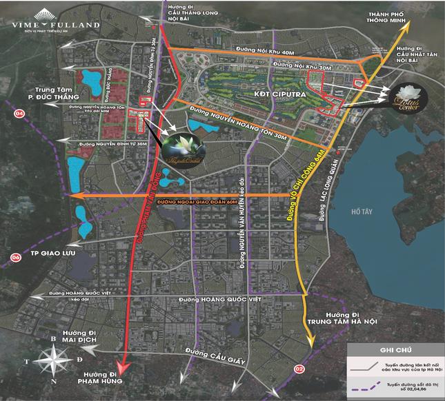 The Jade Orchid và The Lotus Center - tâm điểm của làn sóng phát triển hạ tầng phía Tây Bắc Hà Nội ảnh 2
