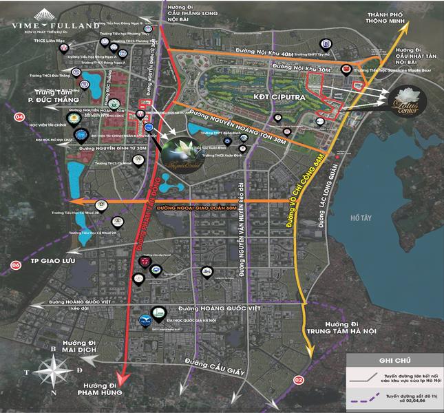 The Jade Orchid và The Lotus Center - tâm điểm của làn sóng phát triển hạ tầng phía Tây Bắc Hà Nội ảnh 5