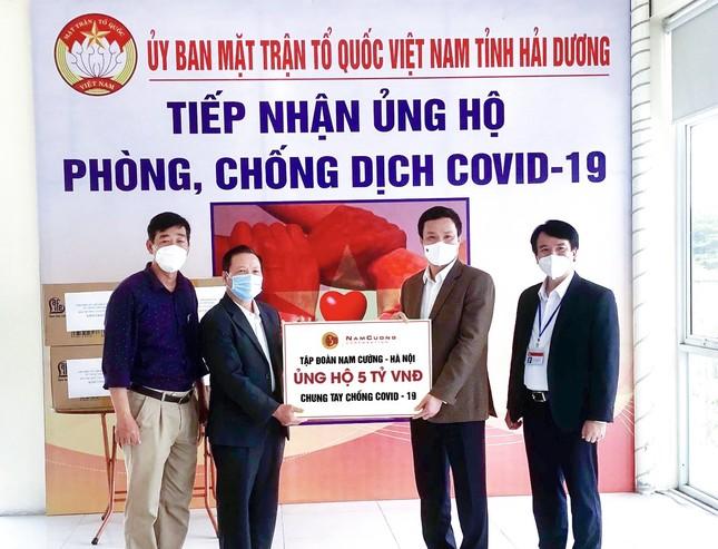Tập đoàn Nam Cường ủng hộ Tỉnh Hải Dương 5 tỷ đồng chống dịch COVID-19 ảnh 1