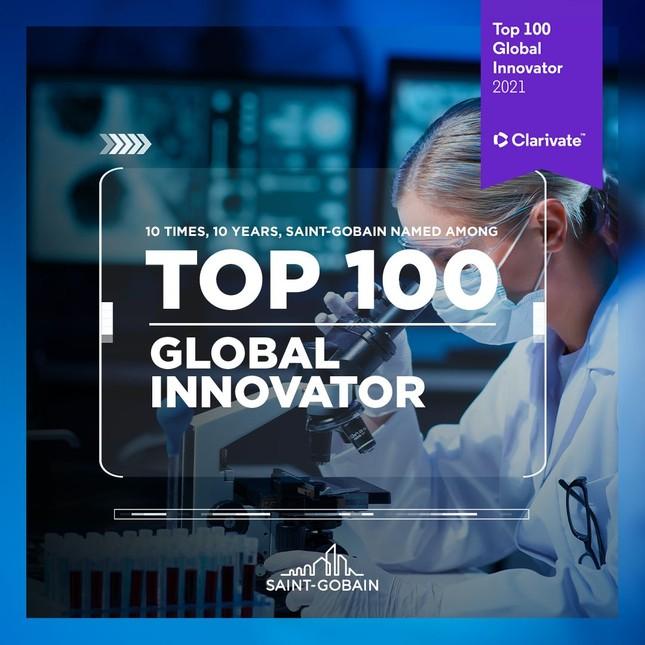 Saint-Gobain liên tiếp được vinh danh top 100 doanh nghiệp sáng tạo hàng đầu thế giới ảnh 1
