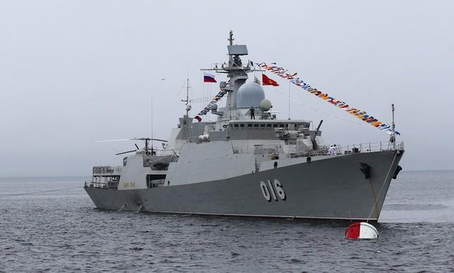 Hải quân Việt Nam cử chiến hạm 015 Trần Hưng Đạo, 016 Quang Trung thi đấu Army Games 2021 ảnh 1