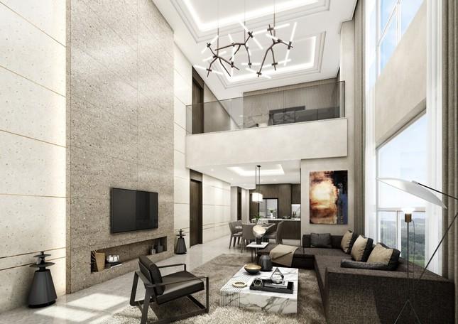 Hé lộ chủ nhân những căn Duplex triệu đô giữa Hà Nội ảnh 2