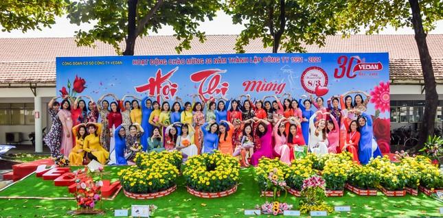 Hội thi cắm hoa 'Phụ nữ Vedan 30 năm đồng hành cùng công ty' ảnh 3