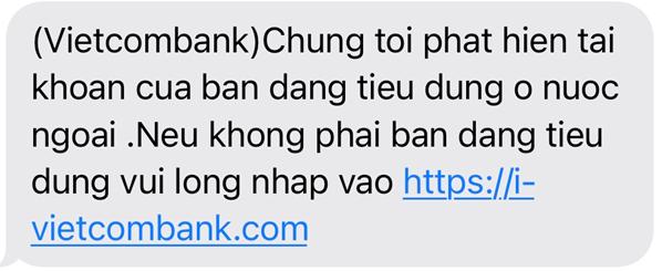 Cảnh báo một số hình thức lừa đảo mới nhằm đánh cắp thông tin dịch vụ ngân hàng ảnh 1