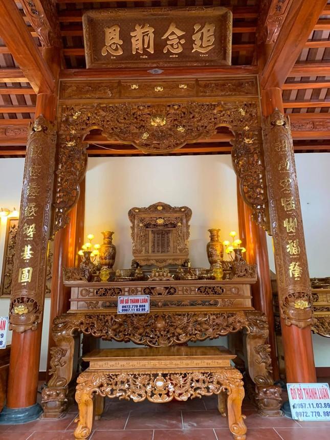 Đồ gỗ cổ truyền cao cấp Thành Luân – Nét đẹp truyền thống cho không gian thờ cúng ảnh 1