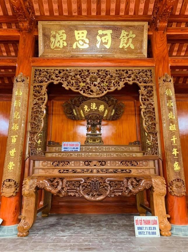 Đồ gỗ cổ truyền cao cấp Thành Luân – Nét đẹp truyền thống cho không gian thờ cúng ảnh 2