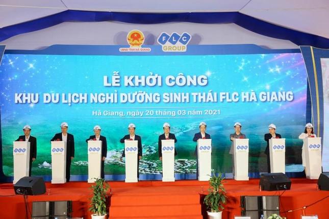 Khởi công Khu du lịch nghỉ dưỡng sinh thái cao cấp FLC Hà Giang ảnh 1
