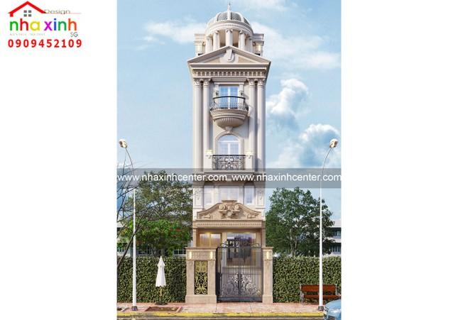 Top những mẫu thiết kế nhà phố cổ điển đẹp ảnh 2