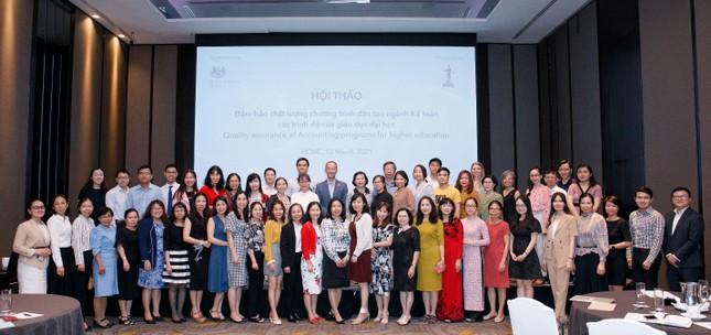 ICAEW tổ chức Hội thảo đảm bảo chất lượng chương trình đào tạo ngành Kế toán ảnh 4