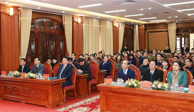 Kho bạc Nhà nước Tuyên Quang đón nhận Huân chương Lao động hạng Nhất ảnh 2